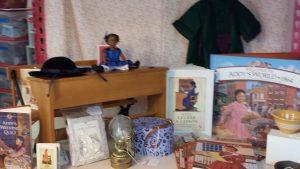 Addy's desk