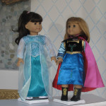 Anna and Elsa from American Girl Frozen