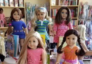 5 Girlof the year dolls